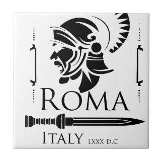 Azulejo Ejército romano - legionario con Gladio