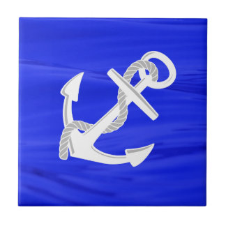 Azulejo El ancla de la nave