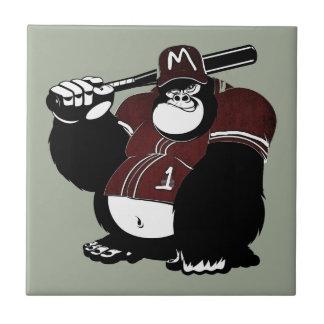 Azulejo El club de béisbol del gorila