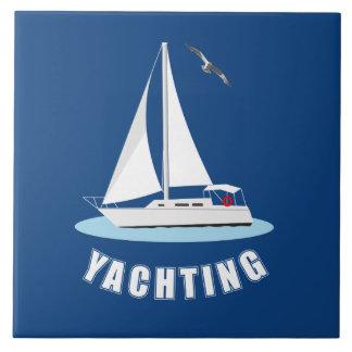 Azulejo El navegar