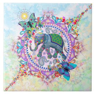 Azulejo Elefante sagrado