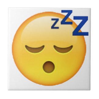 Azulejo Emoji - durmiendo
