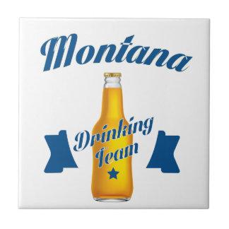 Azulejo Equipo de consumición de Montana