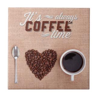 Azulejo Es siempre tiempo del café