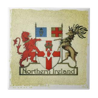 Azulejo Escudo de armas de Irlanda del Norte