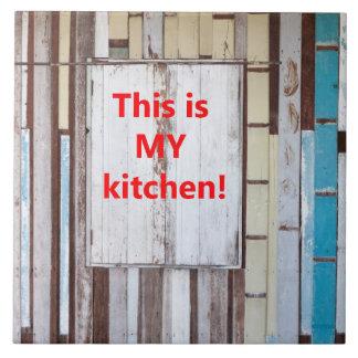 Azulejo Ésta es mi cocina