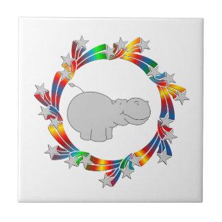 Azulejo Estrellas del hipopótamo