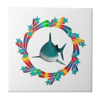 Azulejo Estrellas del tiburón
