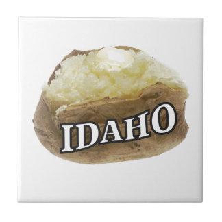 Azulejo Etiqueta de la patata de Idaho