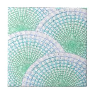 Azulejo Extracto de las olas oceánicas