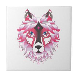 Azulejo Fantasía de los lobos del lobo