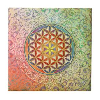 Azulejo Flor de la vida - ornamento I