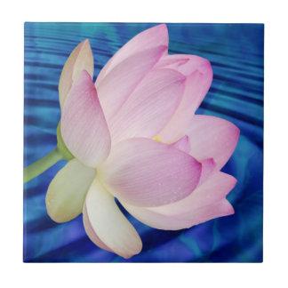 Azulejo Flor y significado de Lotus delicada
