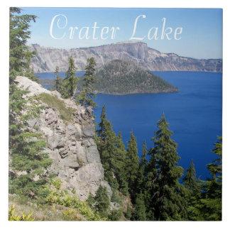 Azulejo Foto del parque nacional del lago crater