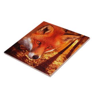Azulejo Fox rojo