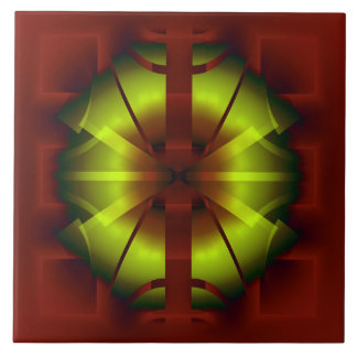 Azulejo Geometría del fractal