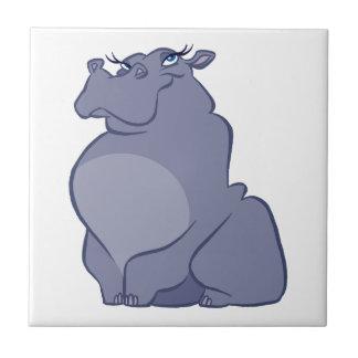 Azulejo Hipopótamo para el navidad