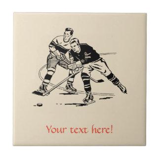 Azulejo Hockey sobre hielo