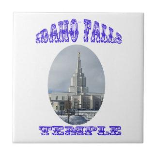 Azulejo Iglesia del Jesucristo del último templo de los
