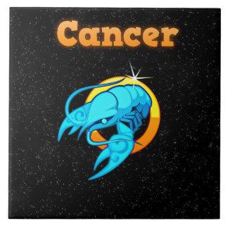 Azulejo Ilustracion del cáncer