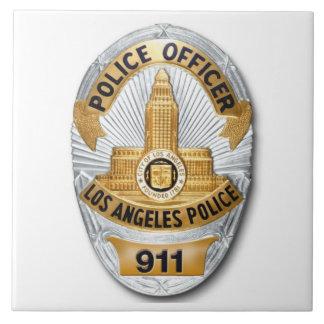 Azulejo Insignia de LAPD