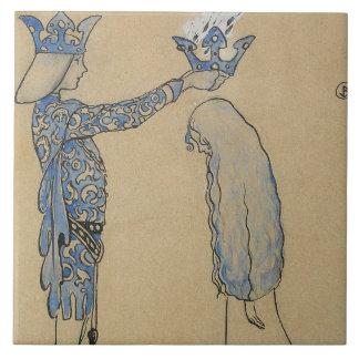 Azulejo Juan Bauer - entonces ponga al príncipe una corona