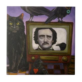 Azulejo La demostración del Poe