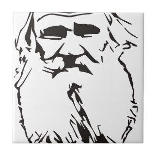 Azulejo León Tolstói