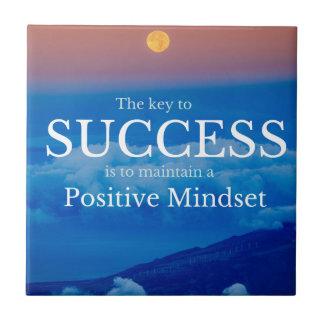Azulejo Llave a la cita inspirada del éxito