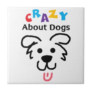 Azulejo Loco por perros