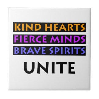 Azulejo Los corazones buenos, mentes feroces, las bebidas