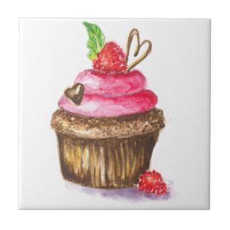 Azulejo Magdalena linda y de la diversión del chocolate y