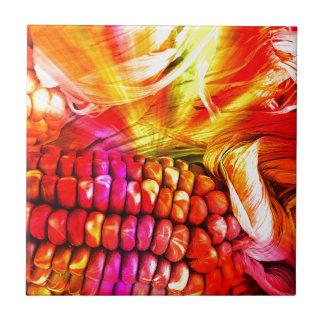 Azulejo maíz rayado caliente