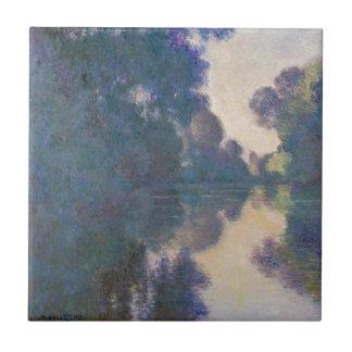 Azulejo Mañana en el Sena cerca de Giverny - Claude