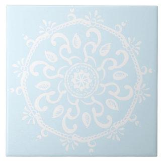 Azulejo Mandala ártica