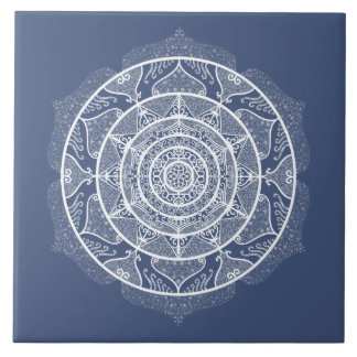 Azulejo Mandala de la noche
