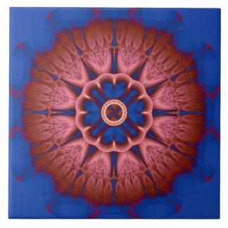 Azulejo Mandala del fractal