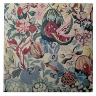 """Azulejo Manta 6"""" de la flor del Veggie de la fruta del"""