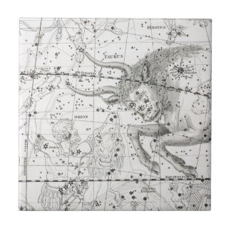 Azulejo Mapa de la placa XIV de las constelaciones
