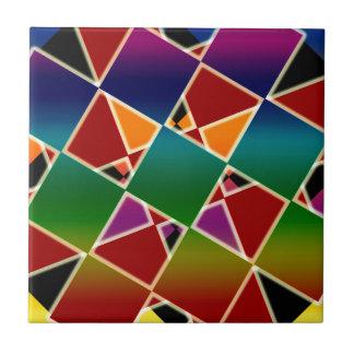Azulejo Modelo ajustado colorido tejado