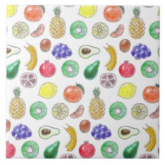 Azulejo Modelo de la fruta