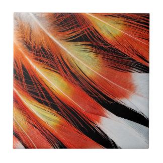 Azulejo Modelo de la pluma del Cockatoo