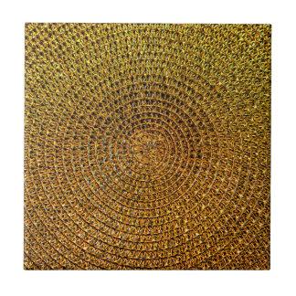 Azulejo Modelo espiral del oro