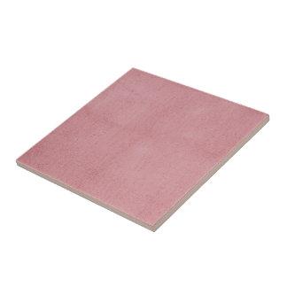 Azulejo Modelo texturizado polvoriento del rosa color de