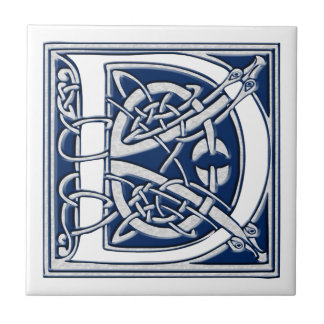 Azulejo Monograma céltico de D