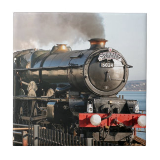 Azulejo Motor de vapor del vintage de rey Edward 1