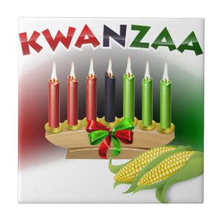 Azulejo Muestra de Kwanzaa