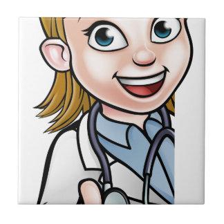 Azulejo Muestra del personaje de dibujos animados del