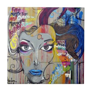 Azulejo Mujer de la pintada
