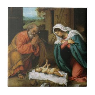 Azulejo Natividad de Cristo